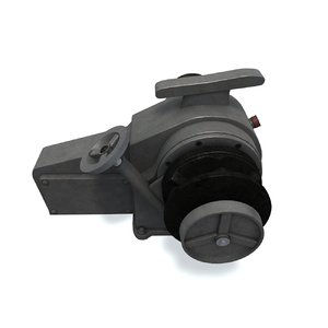anchor electric winch 3D model