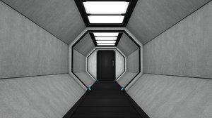 3D tunnel model