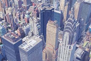 new york city manhattan 3D model