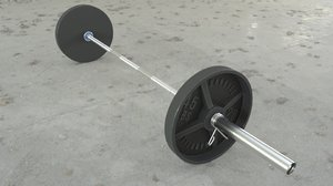 barbell weights 3D model