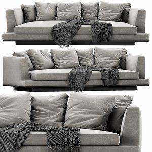 3D b italia aurae sofa