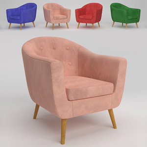 3D lumisource rockwell chair