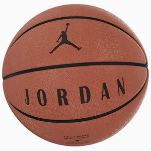 ball jordan ultimate brown 3D model