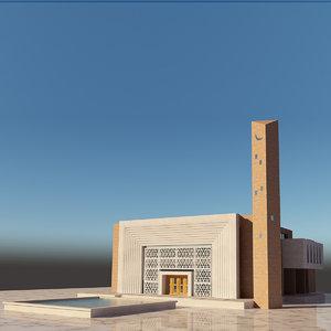 mosque 3D