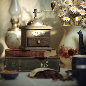 old life chamomile coffee grinder 3D