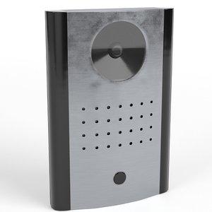 3D doorbell camera