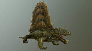 dimetrodon 3D