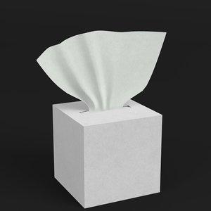 tissue box 2 3D model