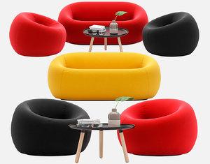sofa serie 2000 3D