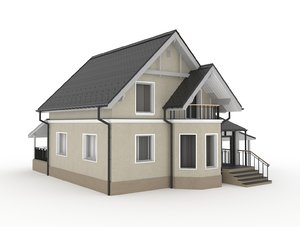 private house 3D