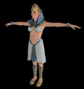 cleopatra cleo 3D