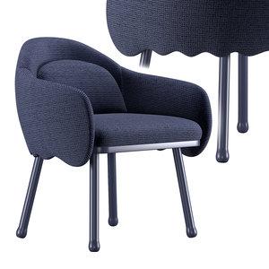 3D corolla chair 270