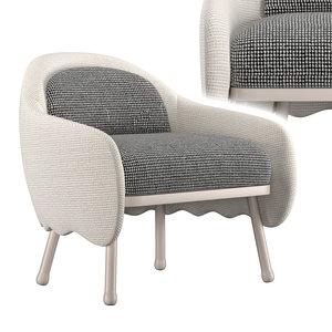3D model corolla chair 271
