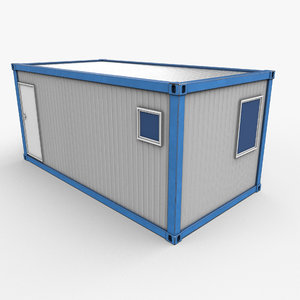 ready office container 3D model