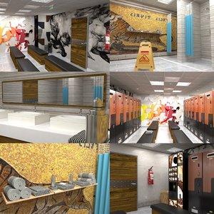 lock room 3D model