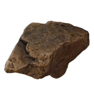 3D rock 01 model