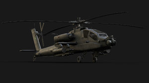 apache helicopter model