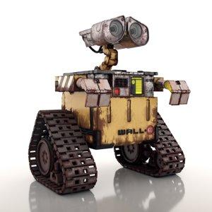 3D robot droide