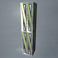 Pillar 4 - Metal Column Box