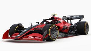 f1 2021 concept 3D model