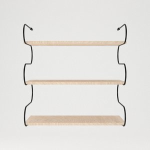 shelf shelving furniture model