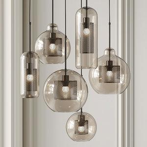 3D pendant lights catch lamp