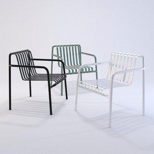 3D chair furniture seat