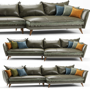sofa seat furniture 3D