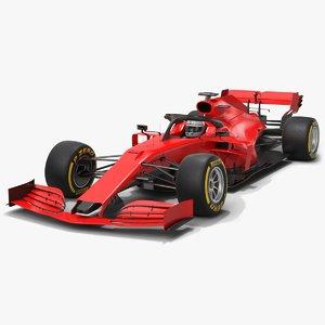 formula 1 season 2020 3D model
