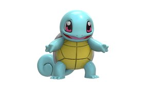 3D model squirtle zbrush