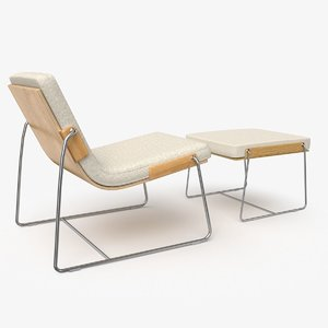 pancras lounge chair 3D