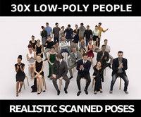 30x MAN WOMAN SITTING ELEGANT CAUSAL SITTING PEOPLE CROWDS