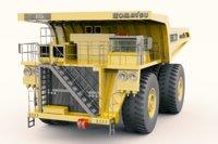 Komatsu 930E Mining Truck