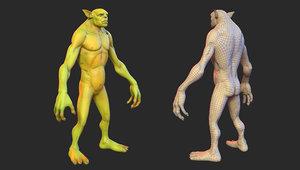 character goblin body base model