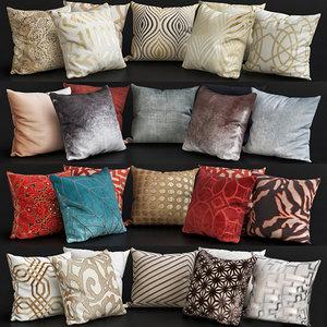 3D pillows interior