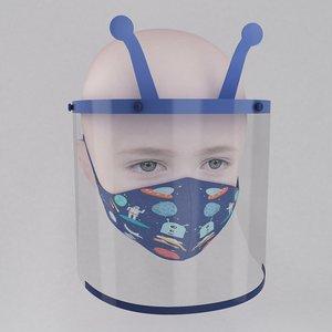 3D medical face shield mask
