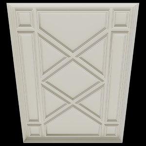 3D ceiling 1 model