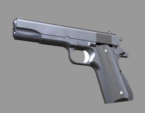 pistola 3D model