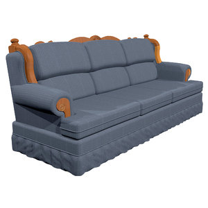 couch country 3D model