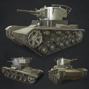 tank vehicles 3D model