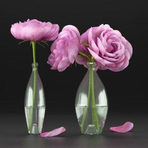 flower decor 3D