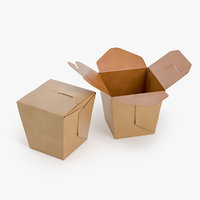 Chinese wok box package