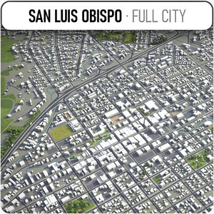 3D san luis obispo surrounding