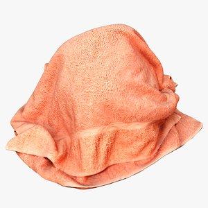 towel games 3D model