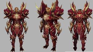 3D armors metin2 model