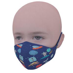 medical mask kids 3D model