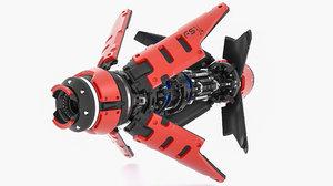 starcraft 2 nova 3D model