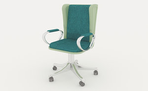 elite office chair 3D
