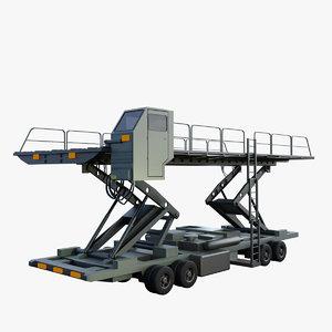3D oshkosh 40 k loader model
