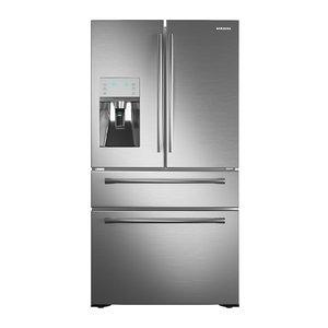 3D model refrigerator samsung rf24 rf24hsesbsr